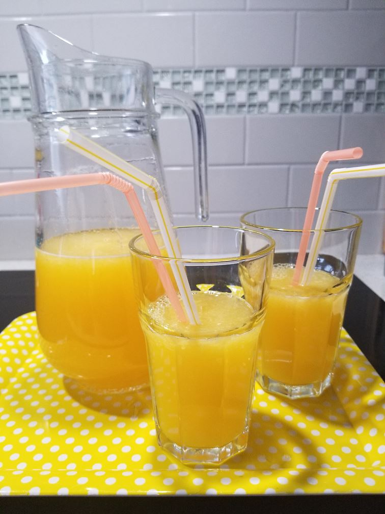 Orange Lemonade, Ready To Drink