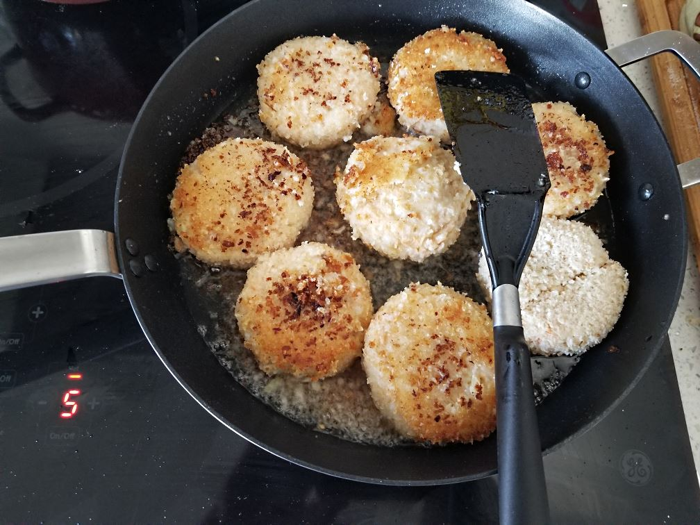 Salmon Fishcakes Ready To Serve